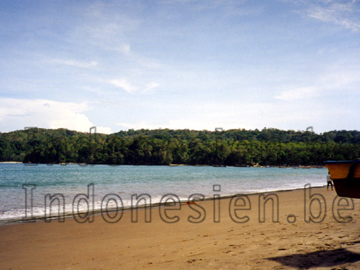 Landzunge am Nationalpark in Pangandaran